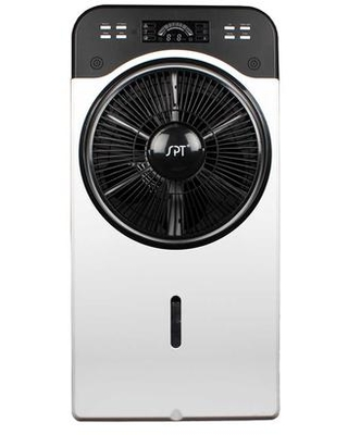 """SF-3312M 16"""" Indoor Misting and Circulation Fan with 2 Liter Tank Capacity Eco-Friendly Energy Efficiency 3 Fan Speeds LED Panel and Remote"""