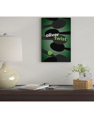 """East Urban Home 'Oliver Twist By Robert Wallman' By Creative Action Network Graphic Art Print on Wrapped Canvas FVNF4396 Size: 26"""" H x 18"""" W x 0.75"""" D"""