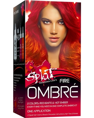 Amazing Shopping Savings Splat Hair Bleach And Color Kit Ombre