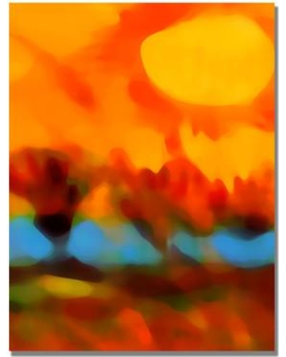 """Bungalow Rose Amy Vangsgard Painting Print on Wrapped Canvas BNGL1450 Size: 32"""" H x 24"""" W x 2"""" D"""