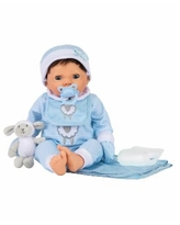 Tiny Treasures Toy Baby Doll with Layette Set - Multi