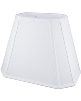 x 5 Rectangle Soft Shantung Tailored Lampshade x Eggshell 3x8 American Pride 7x12