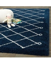 Special Prices On Kater Geometric Navy Cream Area Rug Foundry Select Rug Size Rectangle 5 3 X 7