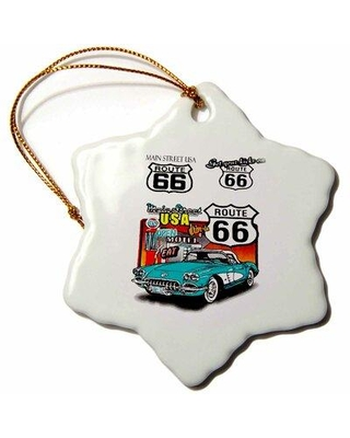 Find Savings On The Holiday Aisle Route 66 Holiday Shaped Ornament Ceramic Porcelain In Blue Size 3 H X 3 W Wayfair Dde0661253a04ee6a7a2be4383ad6167