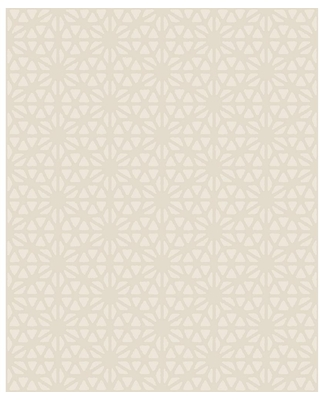 MANHATTAN COMFORT INC Carlsbad, Prism Neutral Geometric Paper Strippable Wallpaper Roll (Covers 56.4 sq. ft.)