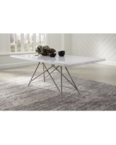 Don T Miss These Deals On Rocco Rectangular Marble Dining Table
