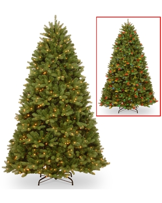 National Tree Company 7.5-foot PowerConnect(TM) Newberry(TM) Spruce with Dual Color LED Lights (Green)