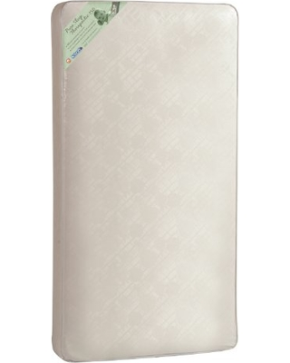 """Kolcraft Pure Sleep Therapeutic 150 Infant/Toddler Crib Mattress -150 Extra Firm Coils, Hypoallergenic, Durable Waterproof Cover, Crib Fit Tested, 51.7""""x27.3"""""""