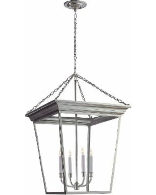Visual Comfort and Co. E. F. Chapman Cornice 20 Inch Cage Pendant - SL 5872PN