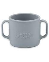 green sprouts® by i play. Silicone Learning Cup in Grey