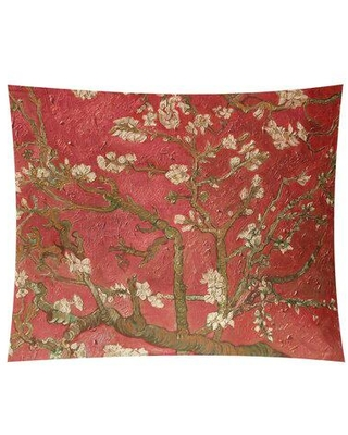 Discover Deals On World Menagerie Almond Blossom Tapestry Location Indoor Polyester In Red Brown Size 54 H X 63 5 W Wayfair 1a8fcaa05f904596ac6c80554a149c49