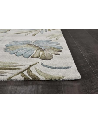 """349754 5' x 7'6"""" Polyester Area Rug in"""