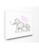 The Kids Room by Stupell Mama and Baby Elephants Canvas Art, 16 x 20