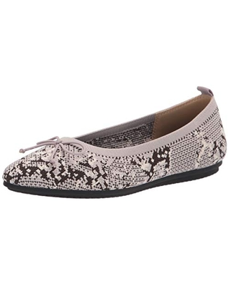 Vince Camuto womens Flanna Knit Ballet Flat, Snake Print, 5.5 US