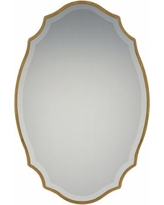 "Quoizel Monarch Gallery Gold 24"" x 36"" Wall Mirror"