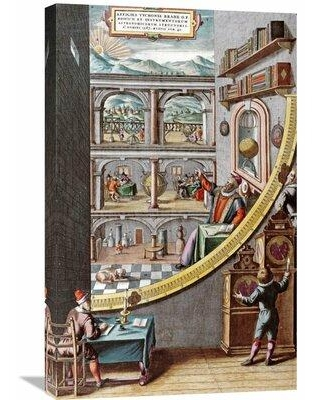 Global Gallery 'Astronomer Tycho Brahe' by Johannes Blaeu Painting Print on Wrapped Canvas GCS-267747-30-142