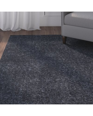 Curran Blue Area Rug Andover Mills Rug Size: Rectangle 3' x 5'