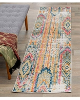 Rugshop Sky Collection Bohemian Runner Rug 2' x 7' Multi