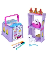 Crayola Scribble Scrubbie Pets Palace 6 Piece Doll Playsets