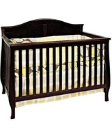 Child Craft Camden 4-in-1 Convertible Crib F31001. Color: Jamocha