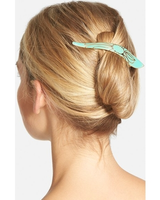Ficcare Maximas Lotus Hair Clip, Size Small - Blue
