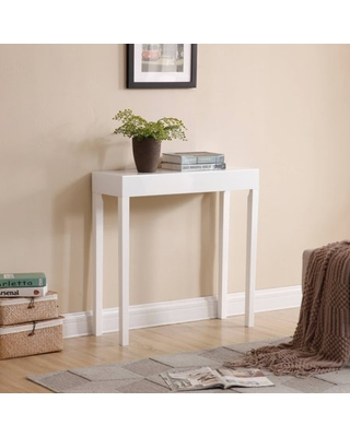 Modern Amy Console Table, Sofa Table, White