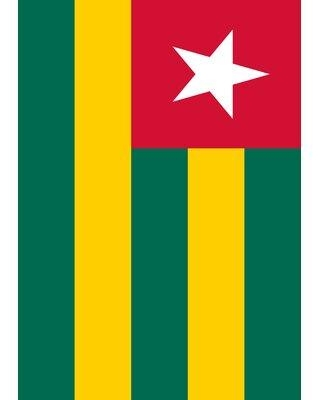 Sales For Toland Home Garden Flag Of Togo 28 X 40 Inch House Flag 1010746