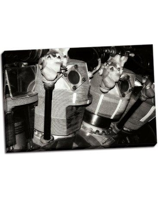 Williston Forge 'Engine VI' Photographic Print on Wrapped Canvas BF056655