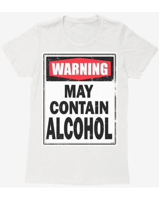 i-Create May Contain Alcohol Womens T-Shirt