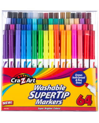 Roseart Fuzzy Super Tip Markers Sonstige Spielzeug 24 Count