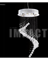 James R. Moder Crystal Rain 17 Inch 5 Light Mini Chandelier - 40402S11