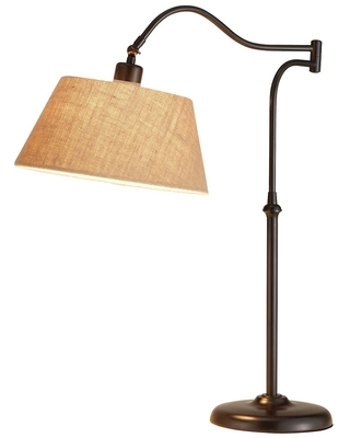Adesso Rodeo Table Lamp - Brown (Lamp Only)
