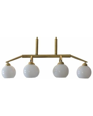 Decor Therapy Michael Chandelier, Yellow
