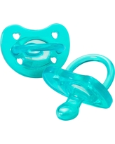 Chicco PhysioForma Soft Silicone Pacifier - Teal 0-6m 2pc