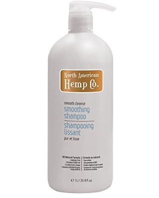 North American Hemp Co. Smooth Cleanse Smoothing Shampoo, 33.814 Fluid Ounce