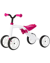 Chillafish Quadie Adjustable Ride On Four Wheeler - Pink - Active Play for Babies - Fat Brain Toys