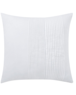 """Charisma Bedford Pleated Decorative Pillow, 18"""" x 18"""" Bedding"""