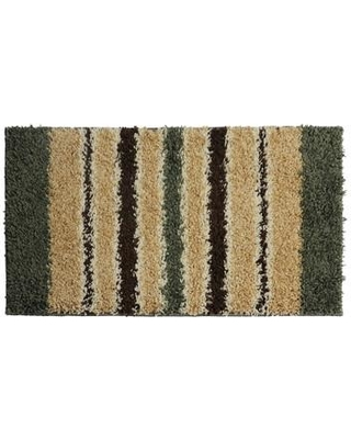 AttractionDesignHome Olive Green/Brown Area Rug DM1164