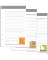 Classic Her Point Of View Two Page Per Day Ring-Bound Planner - Jul 2021 - Jun 2022