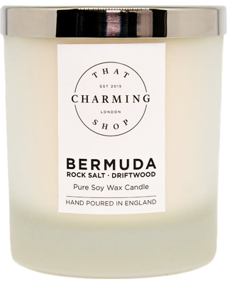 That Charming Shop - Bermuda Deluxe Candle Rock Salt Driftwood