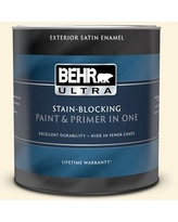 New Deal On Behr Premium Plus 1 Qt P260 1 Glass Of Milk Satin Enamel Exterior Paint And Primer In One