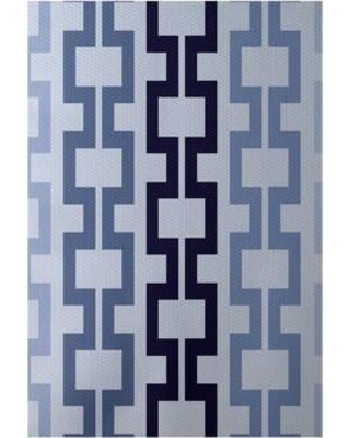 e by design Flatweave Blue Area Rug RGN123BL31BL14- Rug Size: Rectangle 3' x 5'