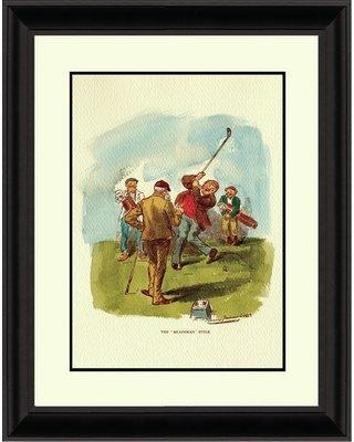 Red Barrel Studio 'The Headsman Style' Framed Print BF132077