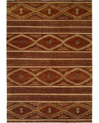 Loon Peak Sitkin Hand-Knotted Wool Brown Area Rug LNPE1825 Rug Size: Rectangle 2' x 3'