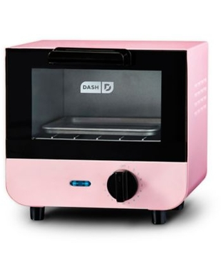 Dash® Mini One-Slice Toaster Oven in Pink