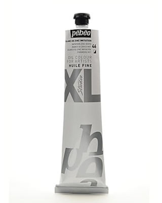 Pebeo Studio Xl Oil Paint Imitation Zinc White 200 Ml (200046)