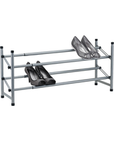 2-Tier Adjustable Shoe Rack