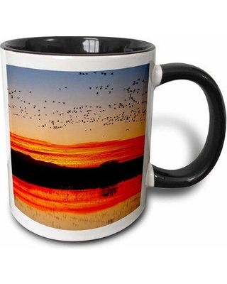 East Urban Home Waterfowl Roost Bosque Del Apache New Mexico USA Larry Ditto Coffee Mug W000897945