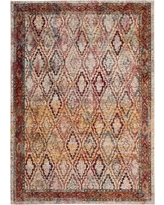 Harmony Cream/Rose (Ivory/Pink) 6 ft. 7 in. X 9 ft. 2 in. Area Rug