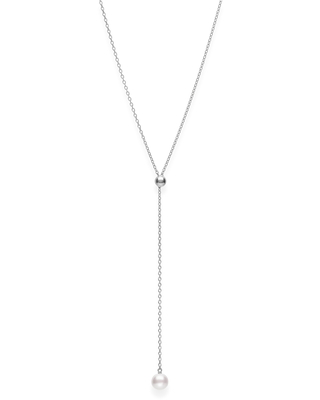 Women's Mikimoto Japan Collections Pearl Lariat Necklace